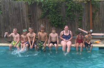Pool Party at Grandma's House